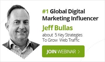 Webinar with Jeff Bullas